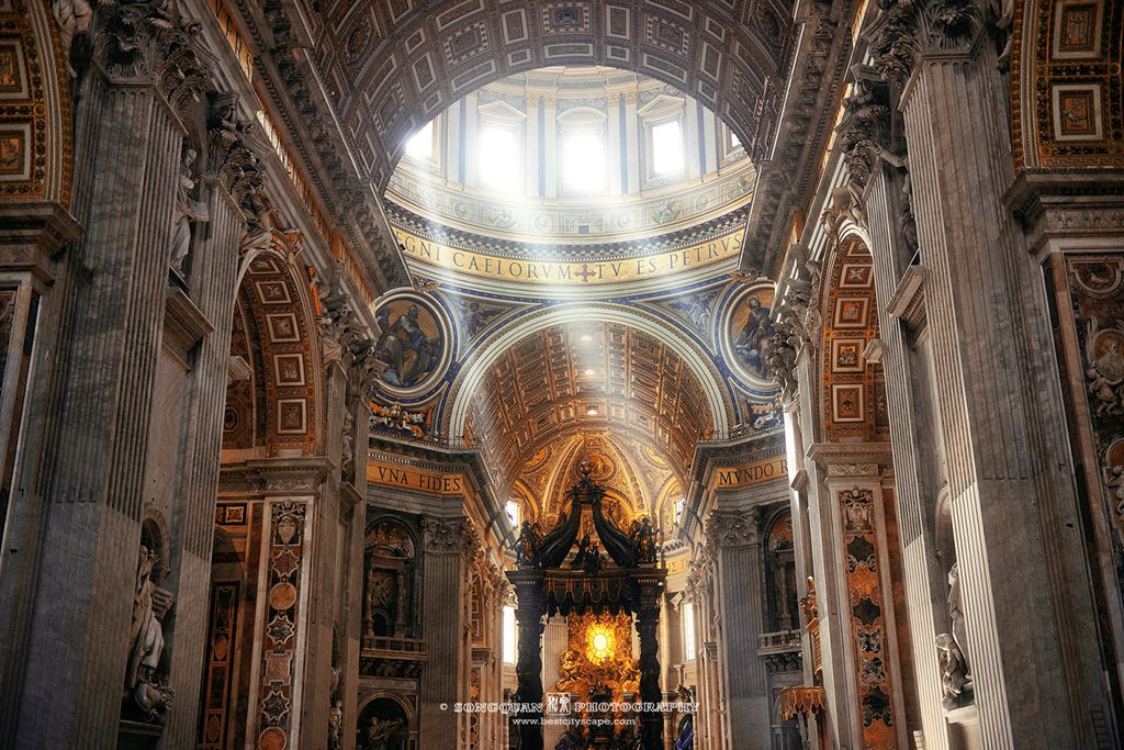 St Peter's Basilica. Preview photo from my Italy trip.