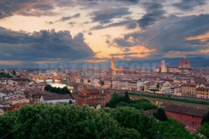 Florence sunset skyline - Songquan Photography