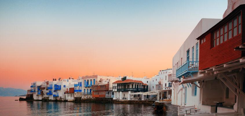 Early Morning, Mykonos, Greece