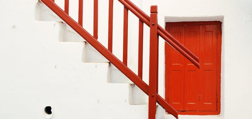 Red White, Mykonos, Greece
