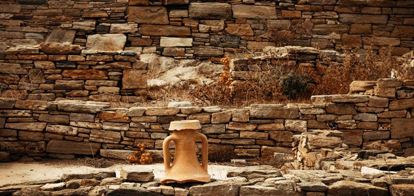 Ancient Ruins, Delos, Greece
