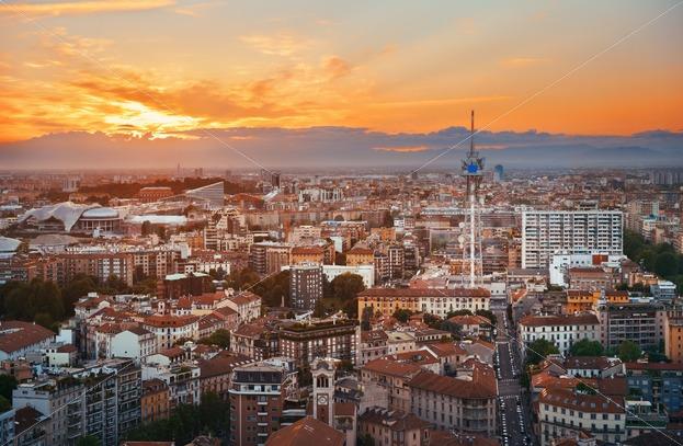 Milan City Skyline Songquan Photography
