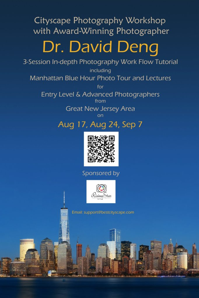 In-depth Cityscape Photography Workshop by Sonqguan